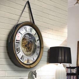 Ceas decorativ design vintage Nantes Ø67 - Evambient SV - Decoratiuni perete