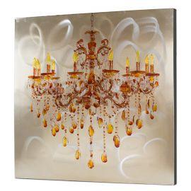Tablou decorativ Lampara, 100x100cm