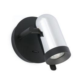 Aplica LED stil modern minimalist ORLEANS 1L crom - Faro Barcelona - Aplice cu Spot