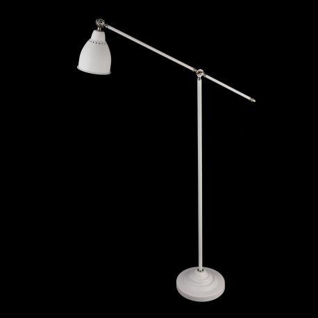 Lampa de podea cu brat articulat Domino, alb - Evambient MY - Lampadare