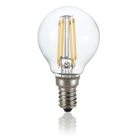 Bec LED E14 Sfera TRASPARENTE