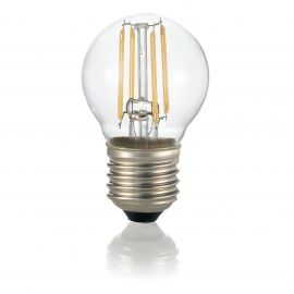 Bec LED E27 Sfera TRASPARENTE 3000K