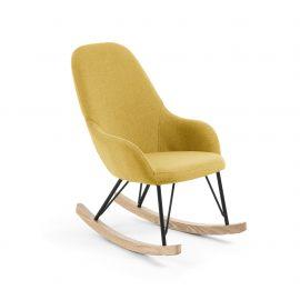 Scaun balansoar pentru copii IVETTE galben