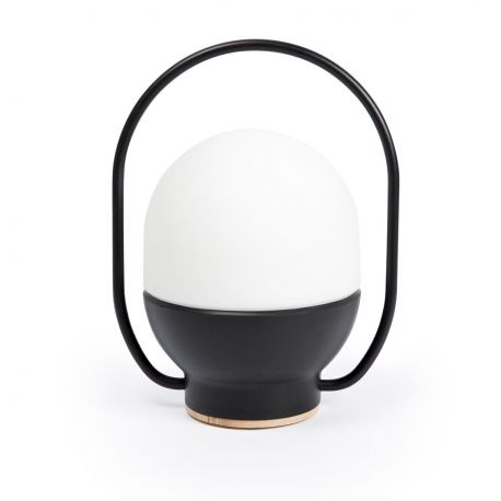 Lampa LED portabila design modern TAKE AWAY Black