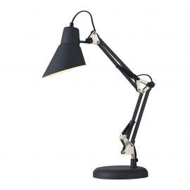 Lampa de masa cu brat articulat Zeppo 136, negru