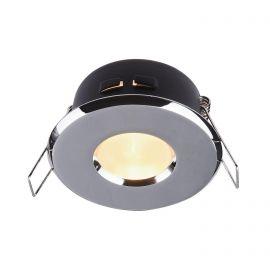Spot incastrabil cu protectie IP44 Metal 8,4cm, crom - Evambient MY - Iluminat pentru baie