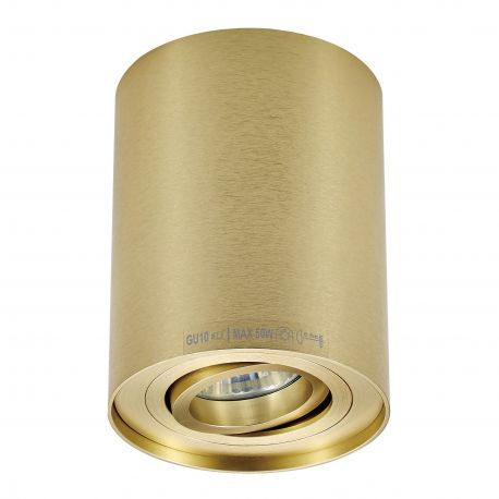 Plafoniere cu spoturi, Spoturi aplicate - Spot aplicat RONDOO SL 1 UP, auriu