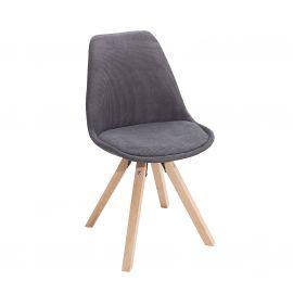 Set de 4 scaune Scandinavia, cord gri