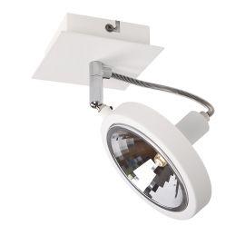 Spot aplicat directionabil design modern Reflex alb - Evambient MX - Plafoniere cu spoturi, Spoturi aplicate
