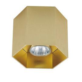 Spot aplicat POLYGON CL1, auriu - Evambient ZL - Plafoniere cu spoturi, Spoturi aplicate