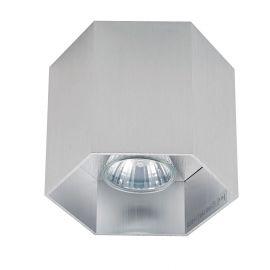 Spot aplicat POLYGON CL1, argintiu - Evambient ZL - Plafoniere cu spoturi, Spoturi aplicate