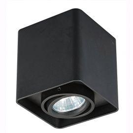 Spot aplicat QUADRY SL 1, negru - Evambient ZL - Plafoniere cu spoturi, Spoturi aplicate