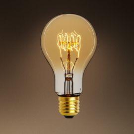 Set de 6 becuri E27 Edison para goldline filament