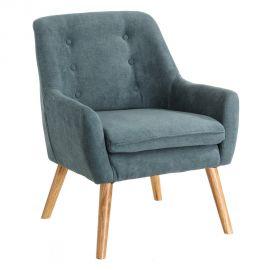 Fotoliu confortabil, elegant MODERNO, albastru