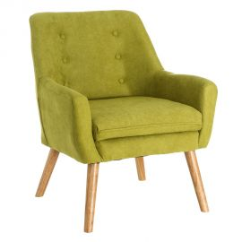 Fotoliu confortabil, elegant MODERNO, verde