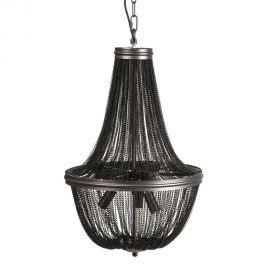 Candelabru elegant design clasic Olimp 43cm, negru - Evambient DZ - Candelabre, Lustre
