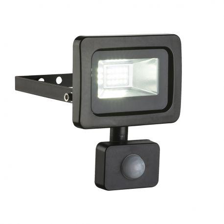 Proiector LED cu senzor de miscare IP44 CALLAQUI I negru - Evambient GL - Proiectoare