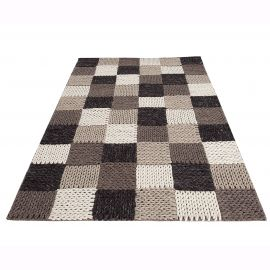 Covor Yarn III 200x120cm Patchwork - Evambient VC - Covoare