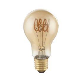Bec decorativ Edison cu filament LED dimabil E27 4W 2000K DUBAN