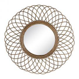 Oglinda design rustic Rattan 51cm