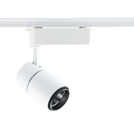 Spot LED directionabil pe sina Rondo II alb 10W - Evambient MW - Spoturi, Proiectoare pe sina