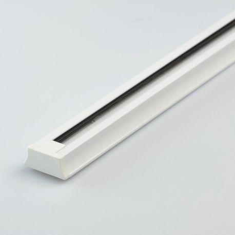 Sina metalica alba 148cm, pentru spotul Galax, Rony, Rondo - Evambient MW - Spoturi, Proiectoare pe sina