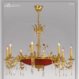 Candalabru 8 brate cu cristale, design LUX VERSALLES