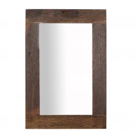 Oglinda cu rama din lemn reciclat, Hemingway 120cm
