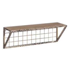Raft design vintage INDUSTRIAL 60x20cm