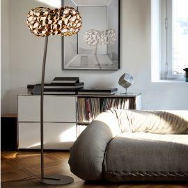 Lampadar design modern Narisa, roze gold