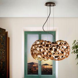 Lustra design elegant Narisa 46cm, roze gold - Evambient SV - Pendule, Lustre suspendate