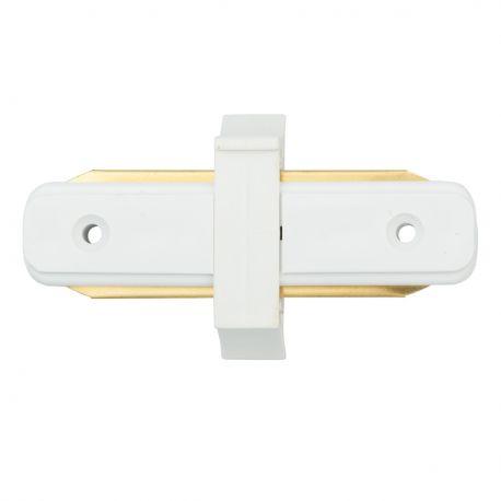 Accesoriu prindere sina metalica alba de spoturi Galax, Rony, Rondo CON 2I WT - Evambient MW - Spoturi, Proiectoare pe sina