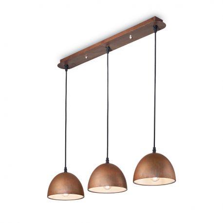 Lustra design deosebit cu efect de metal oxidat FOLK SP3 - Evambient IdL - Pendule, Lustre suspendate