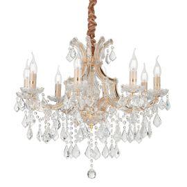 Candelabru design elegant NAPOLEON SP8 auriu