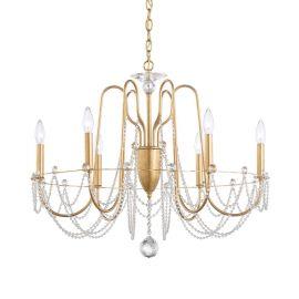 Lustra design LUX cu cristale Heritage, Esmery 6 brate - Lux Lighting Schonbek - Lustre Cristal Schonbek