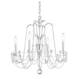 Lustra design LUX cu cristale Heritage, Esmery 4 brate - Lux Lighting Schonbek - Lustre Cristal Schonbek