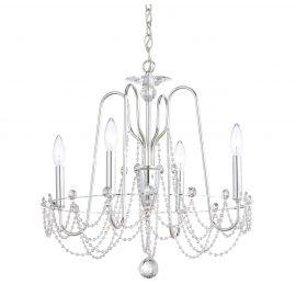 Lustra design LUX cu cristale Swarovski, Esmery 4 brate - Lux Lighting Schonbek - Lustre Cristal Schonbek