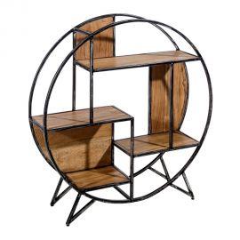 Raft design industrial-vintage, Sonia 100cm - Evambient SX - Biblioteci-Rafturi