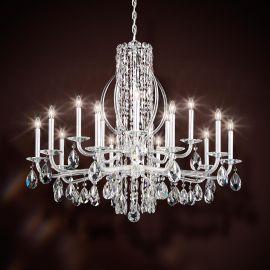 Candelabru 15 brate, design LUX cristal Swarovski, Sarella - Lux Lighting Schonbek - Lustre Cristal Schonbek