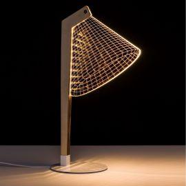Veioza design modern LED ORO-BLANCO