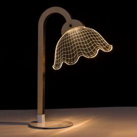 Veioza design modern LED NATURAL-BLANCO - Evambient SX - Veioze