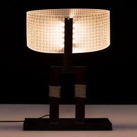 Veioza design modern LED, MDF Maro - Evambient SX - Veioze