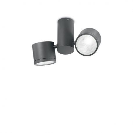 Plafoniera LED exterior design modern SUNGLASSES PL2 antracit - Evambient IdL - Plafoniere