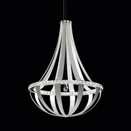 Lustra LUX cristal Swarovski Crystal Empire 85cm, LED 3000K - LUX Swarovski Lighting - Lustre Cristal Swarovski