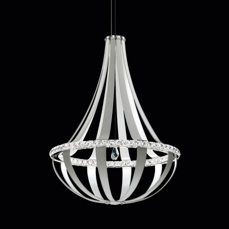Lustra LUX cristal Swarovski Crystal Empire 85cm, LED 3000K