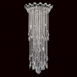Lustra aplicata design LUX cristal Heritage/ Spectra, Trilliane 43cm, H-100cm