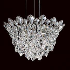 Lustra suspendata design LUX cristal Heritage/ Spectra, Trilliane 43cm - Lux Lighting Schonbek - Lustre Cristal Schonbek