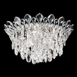 Lustra aplicata design LUX cristal Heritage/ Spectra, Trilliane 53cm, H-28cm