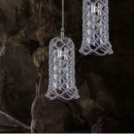 Lustra moderna design LUX cristal ROSÉE BELL - Evambient ARTG - Lustre Cristal Bohemia