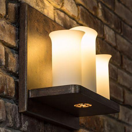 Aplica din fier forjat cu 3 surse de lumina, WL 3603, spot -downlight- - Robers - Aplice perete Fier Forjat